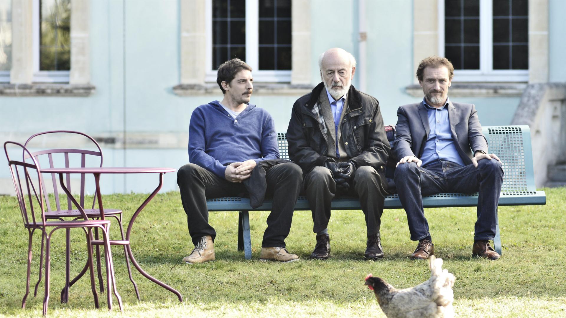Papa, Alexandre, Maxime & Eduardo