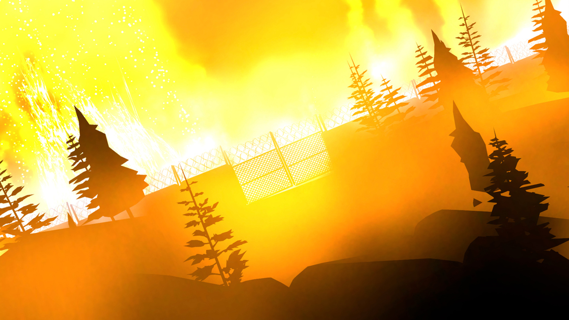 There's a Prison on Fire in the Forest